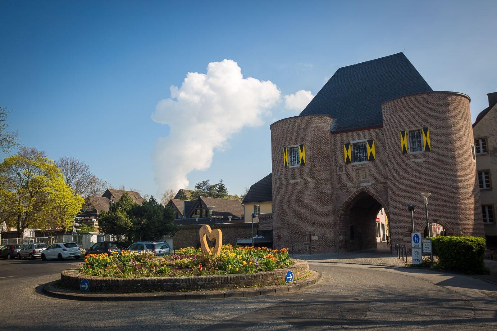 Aachener Tor Stadt Bergheim
