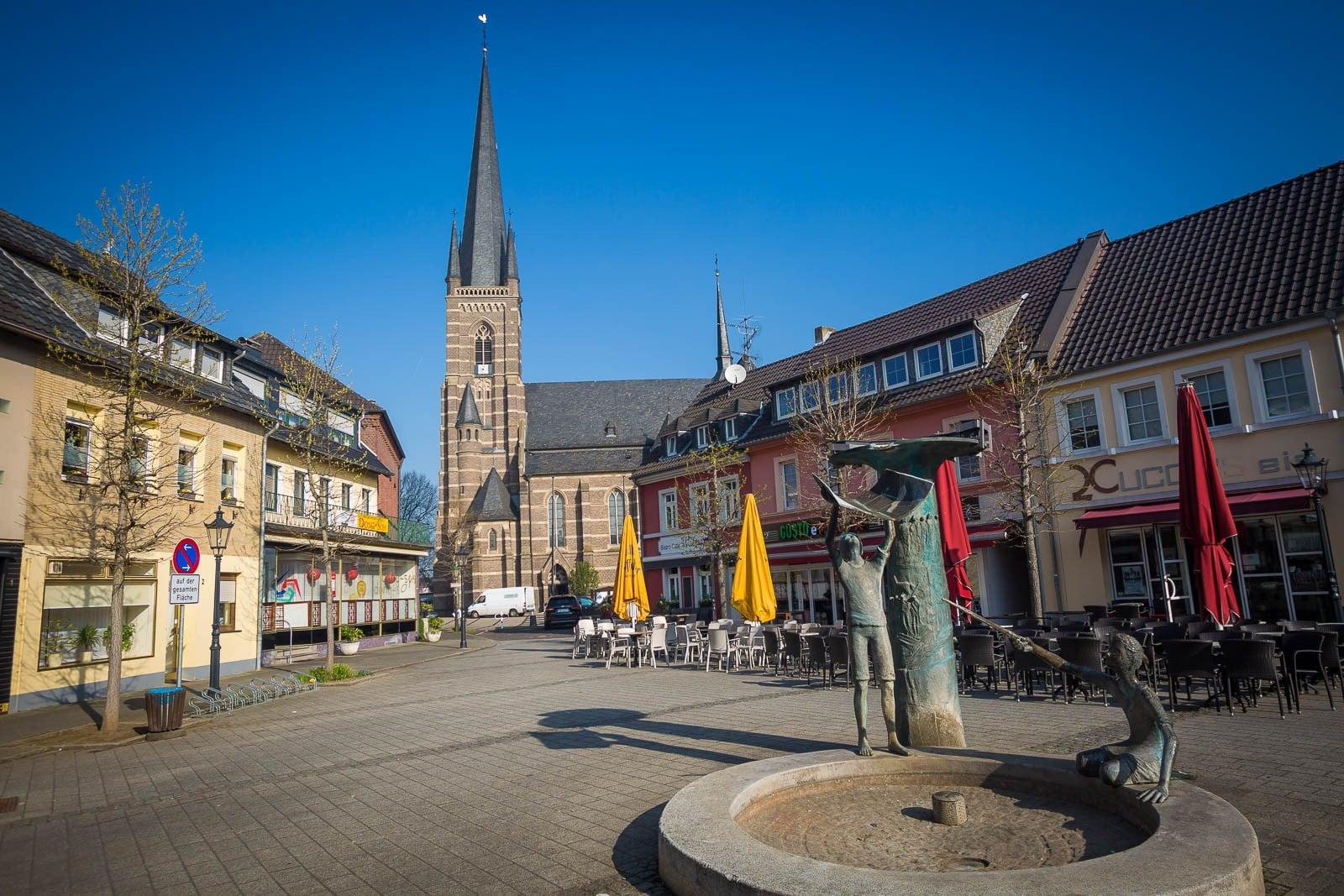Marktplatz Stadt Bedburg